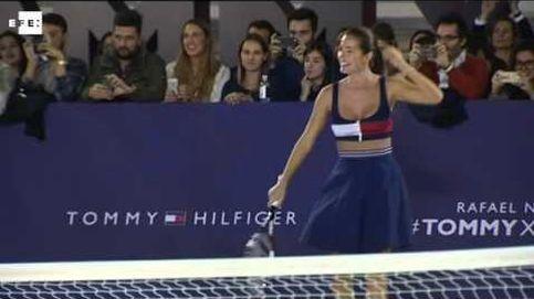 Nadal, Malena y el strip-tennis
