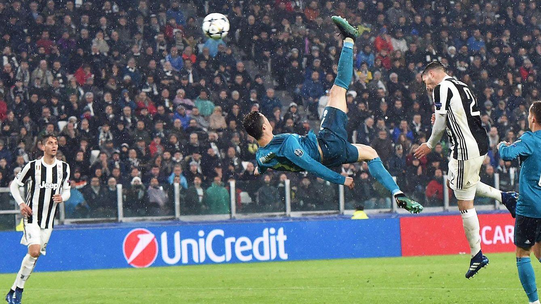 Foto: La chilena de Cristiano Ronaldo: fotogramas de un gol histórico