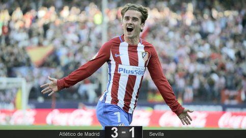 El Atlético gana al Sevilla y acecha la codiciada tercera plaza
