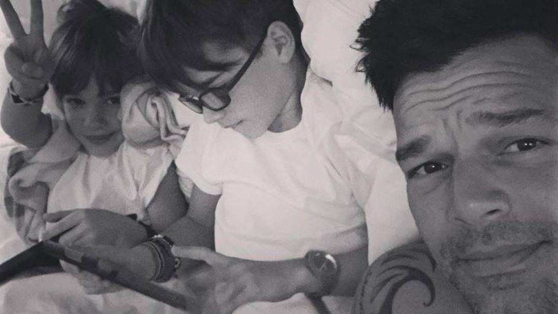 Ricky Martin y cómo le explicó a sus hijos por qué tienen dos papás