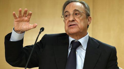 Florentino y los periodistas: Marín es un impresentable y García, un idiota