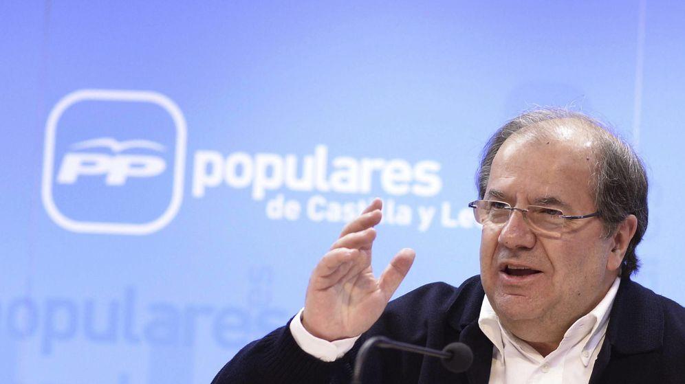 Foto: Juan Vicente Herrera, candidato del PP a la presidencia de la Junta de Castilla y León. (EFE)