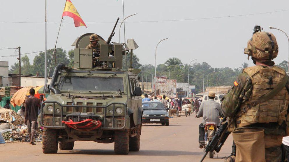 Soldados de élite españoles protegen a los últimos musulmanes de Bangui