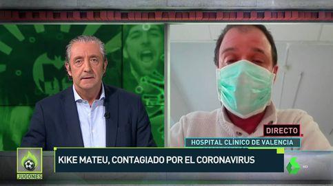 Kike Mateu, colaborador de Josep Pedrerol, contagiado por el coronavirus