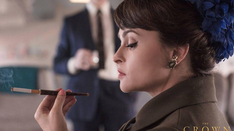 Foto: Helena Bonham Carter, en la serie como la princesa Margarita. (Netflix)