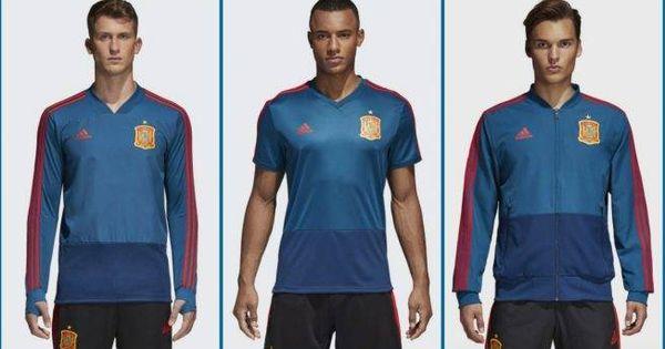 Selección Española de Fútbol  Camiseta de España para todos  la de  entrenamiento será azul franquista 019304e5a0495