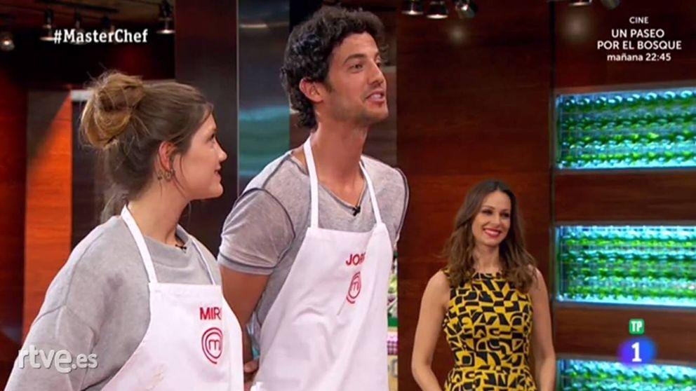 Amor en las cocinas de 'MasterChef 5': el tonteo entre Jorge y Miri