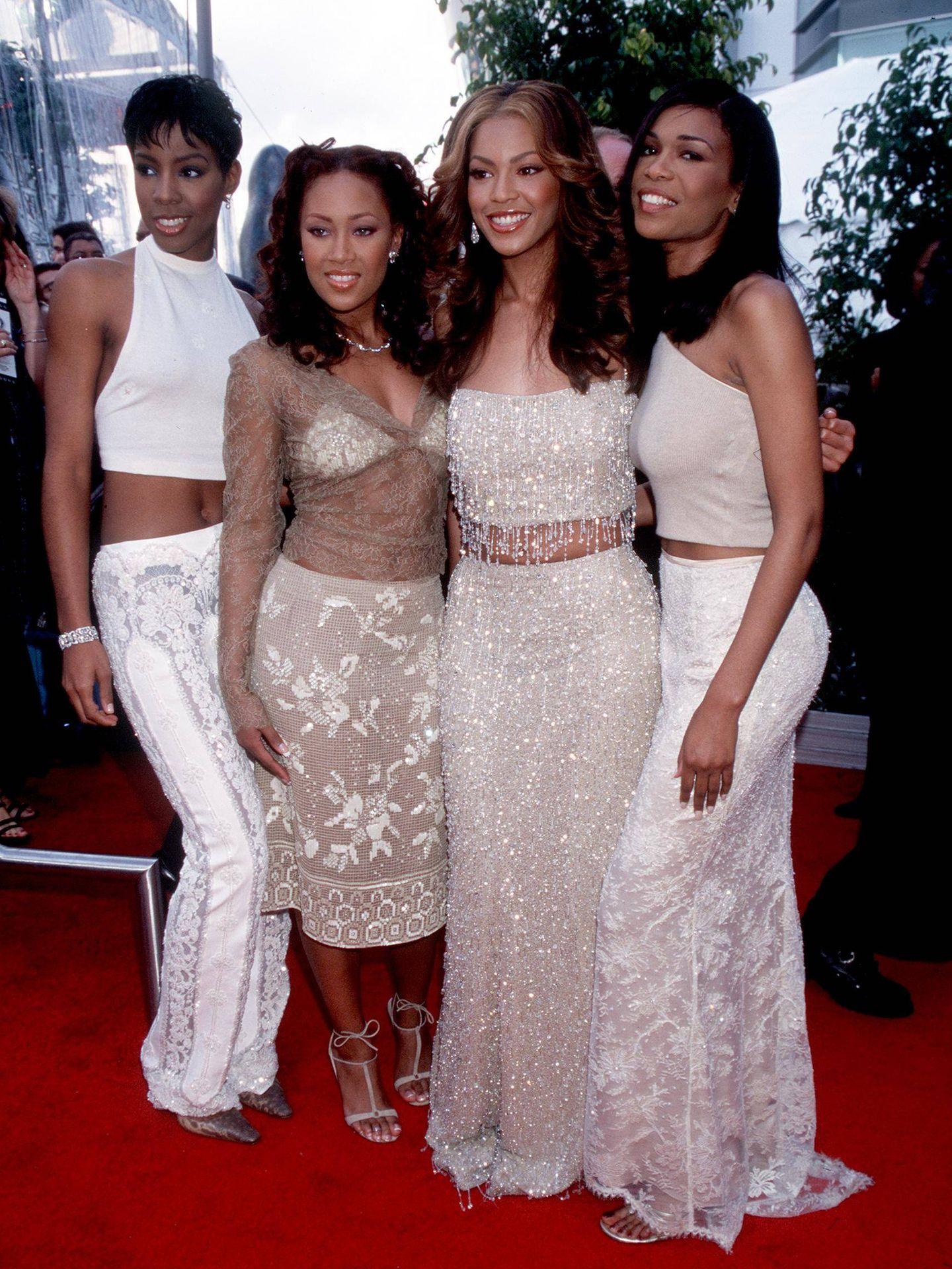 Las Destiny's Child, en 2000. (Getty)