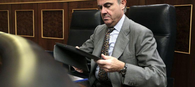 Foto: El ministro de Economía y Competitividad, Luis de Guindos
