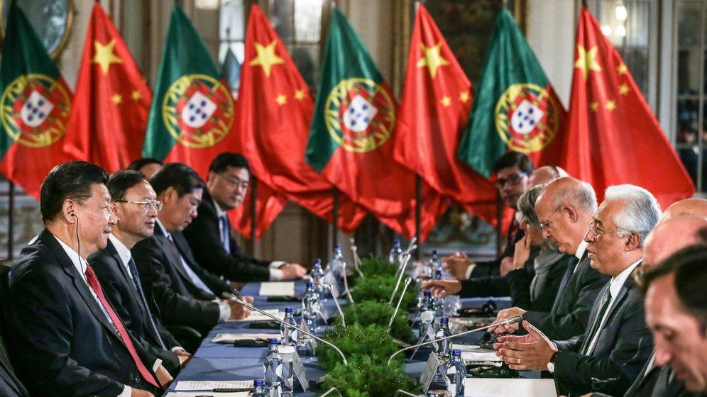 Foto: La visita de Xi Jinping a Portugal. (EFE)