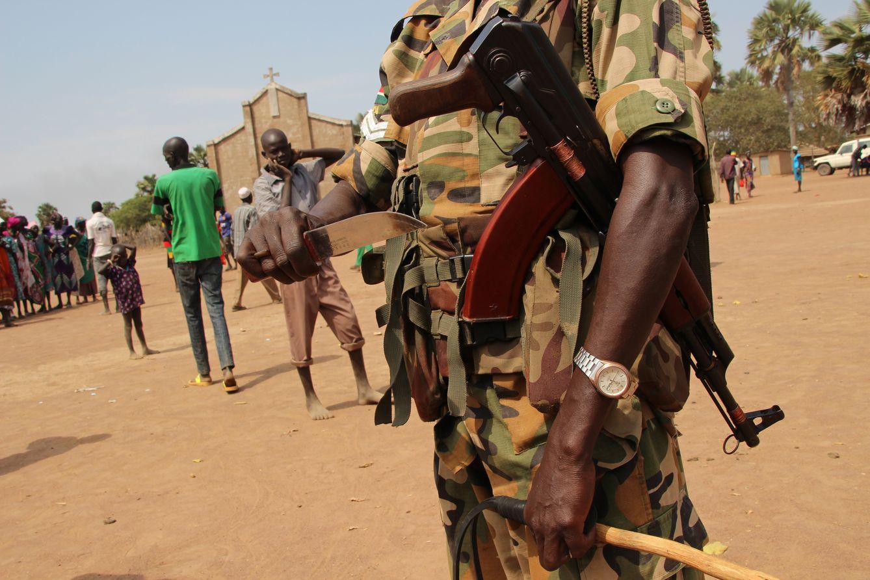 Foto: Sudán del Sur alcanzó la independencia en 2011. Ahora, sus habitantes sufren una cruenta guerra civil. (G. Araluce).