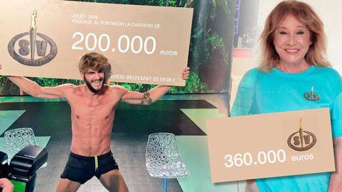 Mila Ximénez no gana 'Supervivientes' pero sí más dinero que Jorge Díaz
