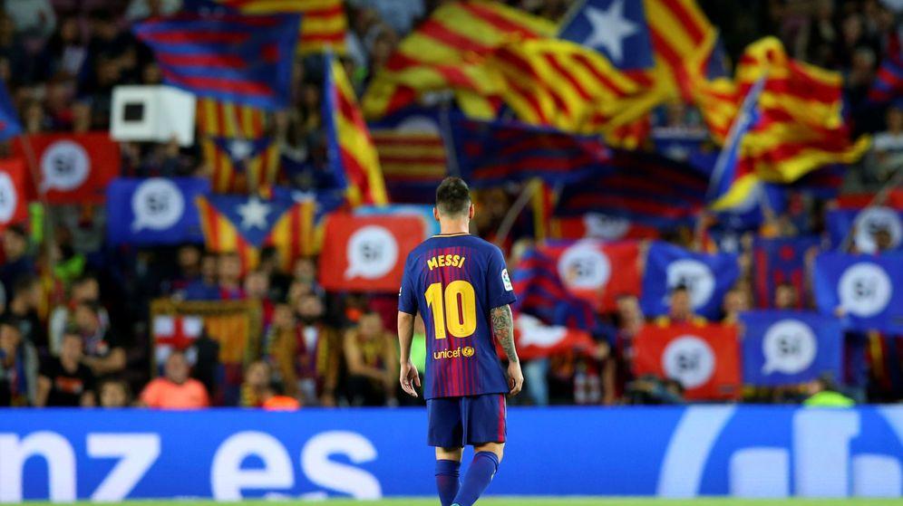 Foto: Messi, durante un partido del Barça en el Camp Nou. (Reuters)