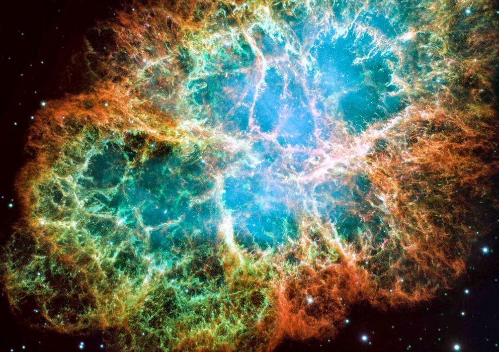 Foto: La Nebulosa del Cangrejo está situada a 6.500 años luz