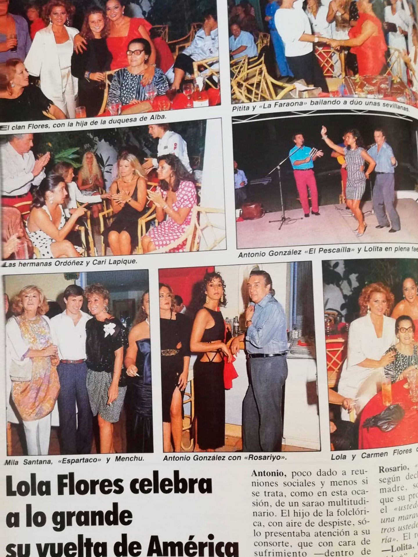 Los veranos marbellíes. (Revista 'Tiempo')