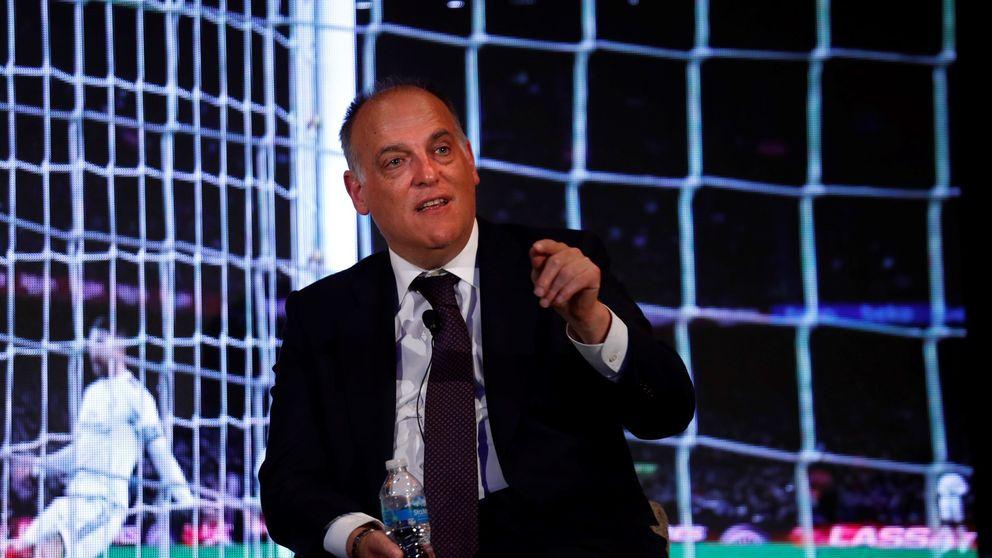 Javier Tebas: Creo que hay demasiado victimismo últimamente en el Real Madrid