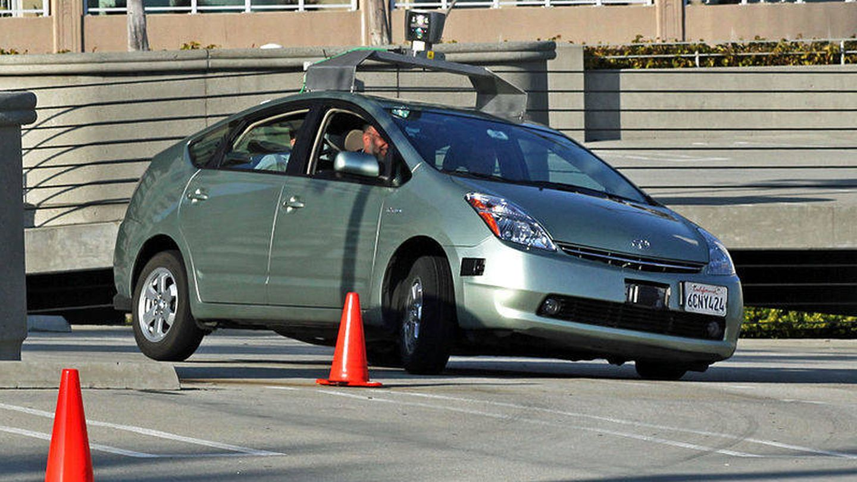 Google usó los sensores de Velodyne en sus primeros coches autónomos (Wikimedia Commons)