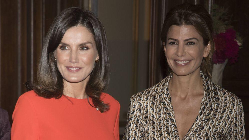 Foto: La Reina y Juliana Awada. (Getty)