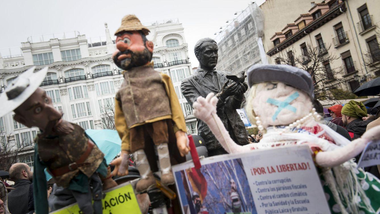 Los titiriteros vuelven a Madrid con la obra que les llevó a prisión