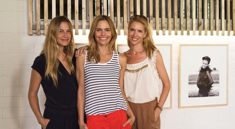Foto: Martina Klein, Verónica Blume y  Judit Mascó en Barcelona