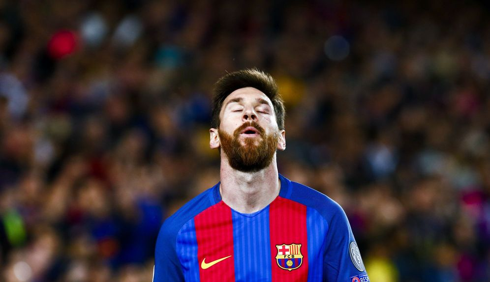 Foto: Leo Messi ha quedado muy herido tras caer eliminado el Barcelona de la Chanpions. (EFE)