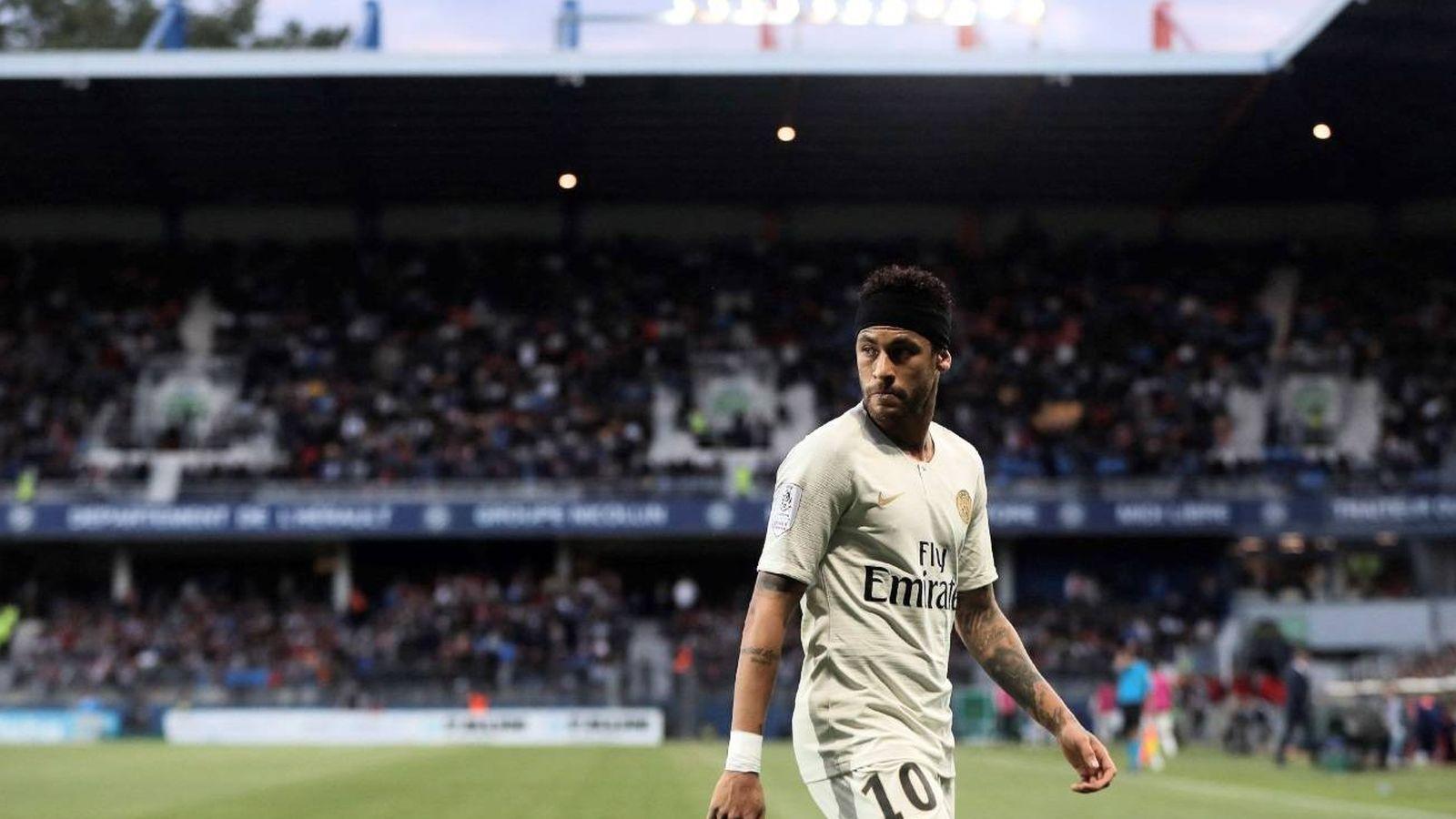 Foto: Neymar, con la camiseta del PSG. (EFE)