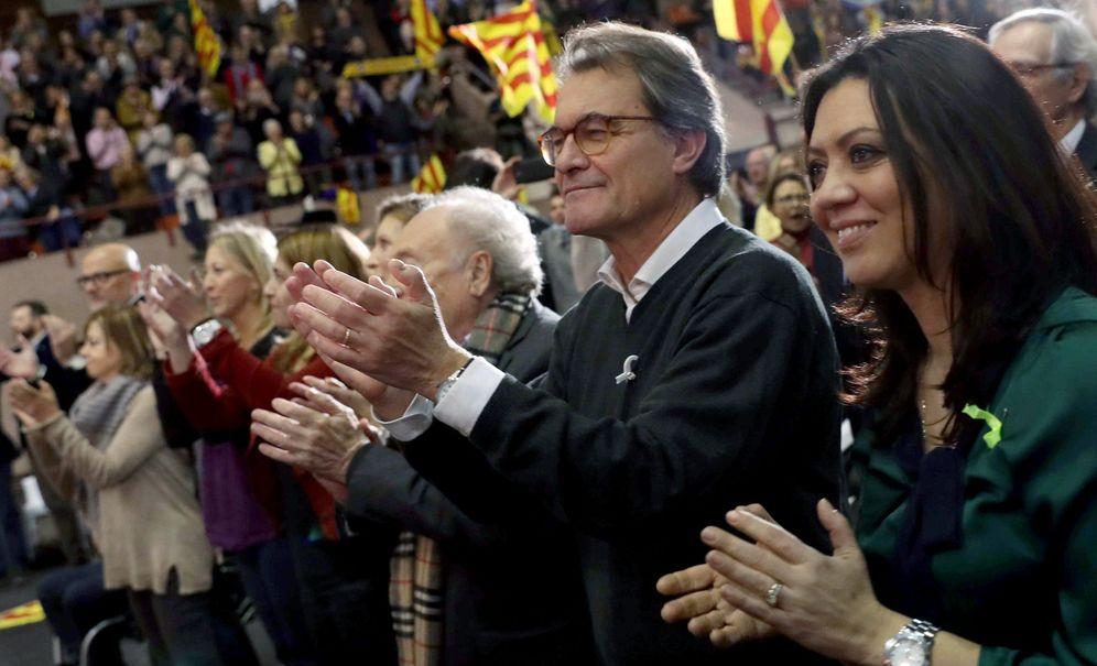 Foto: Artur Mas en un acto de Junts per Cat. (EFE)
