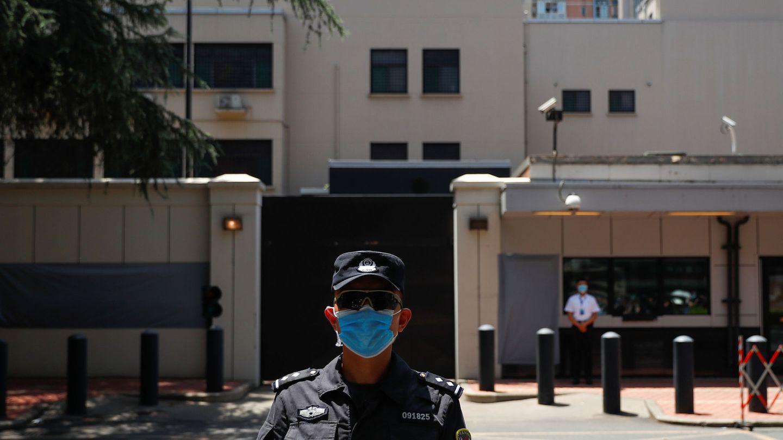 Consulado de EEUU en Chengdu (Reuters)