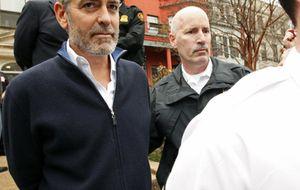 George Clooney, detenido en una protesta en la embajada de Sudán de Washington