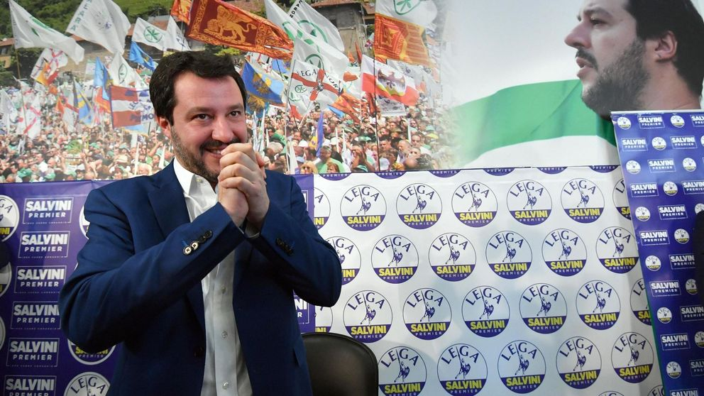 Bruselas se queda muda ante la incertidumbre en Italia y el ascenso de Salvini