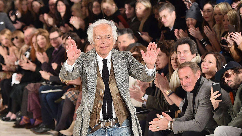 Foto: Ralph Lauren en la Semana de la Moda de Nueva York (Foto de Mike Coppola/Getty Images).