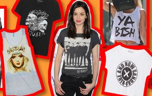 Subversivas, rockeras... Las camisetas gráficas, la última tentación del verano