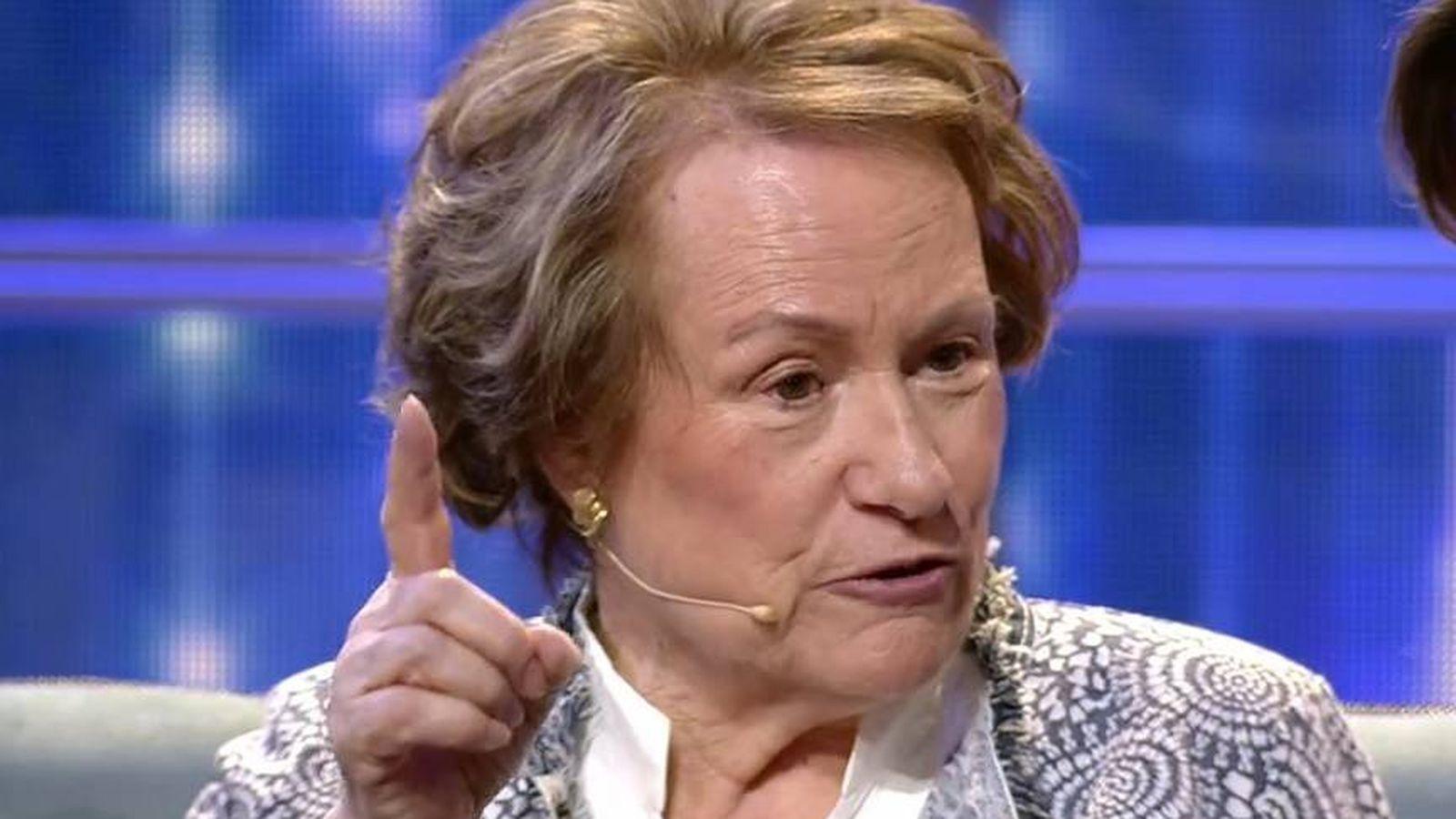 Foto: Mª Ángeles, la abuela de Omar Montes, en 'Gran Hermano VIP 6'. (Telecinco).