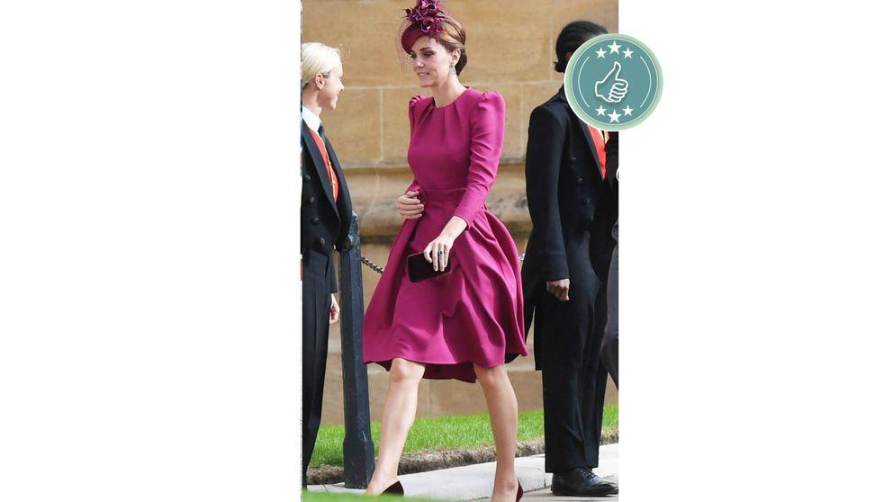 De Kate Moss a Naomi Campbell: las mejor y peor vestidas de la boda de Eugenia de York