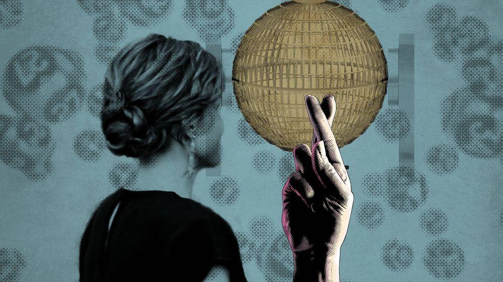 Foto: La reina Letizia en un fotomontaje de Vanitatis.