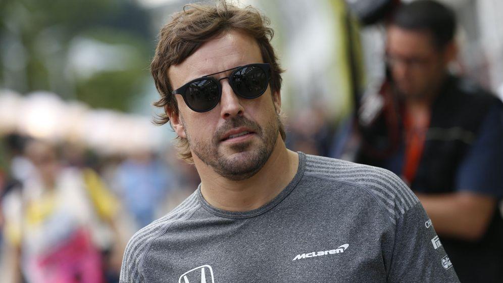 Foto: Fernando Alonso este jueves en Singapur, que este fin de semana acoge al Mundial de Fórmula 1. (EFE9