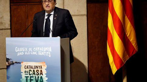 Torra presenta una campaña para atraer turismo español pero evita nombrar a España