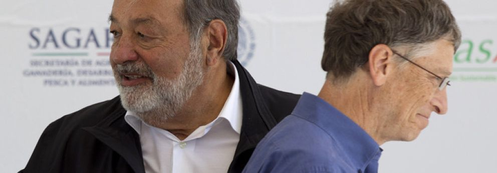 Foto: Bill Gates y Carlos Slim unen sus fortunas para erradicar la polio en 6 años
