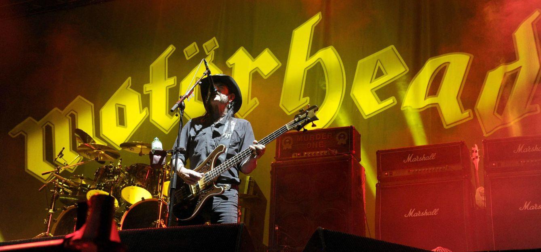Foto: Lemmy Kilminster, vocalista y bajista de Motorhead.