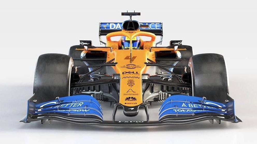 La broma con el nuevo McLaren de Carlos Sainz para la temporada 2020 de F1