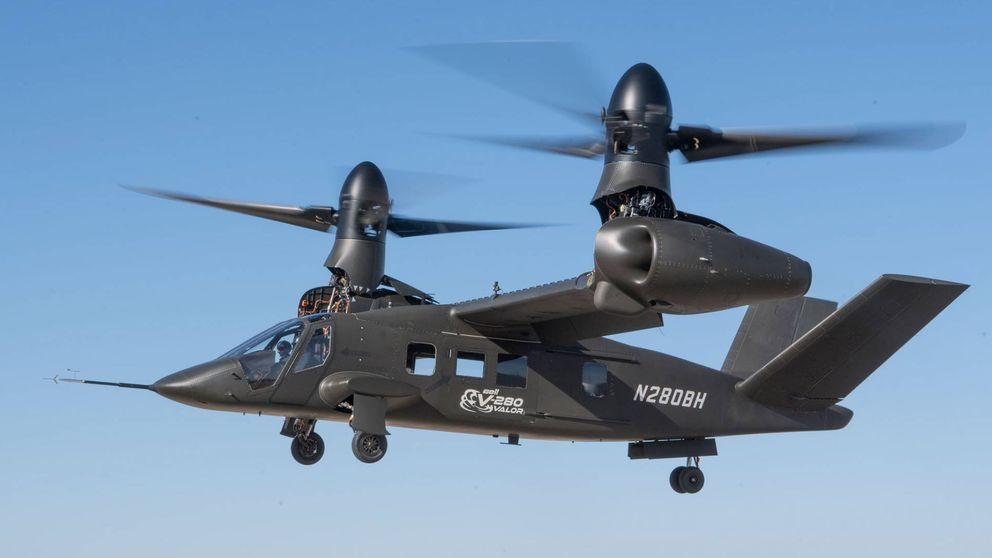 Hélices abatibles a 500 km/h: este es el nuevo helicóptero de combate de EEUU