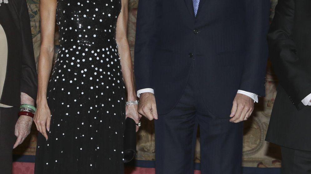 Foto: Don Felipe y doña Letizia reciben al presidente de Israel y su mujer en visita de Estado