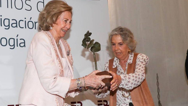La Reina, con el anillo en febrero de 2020. (CP)