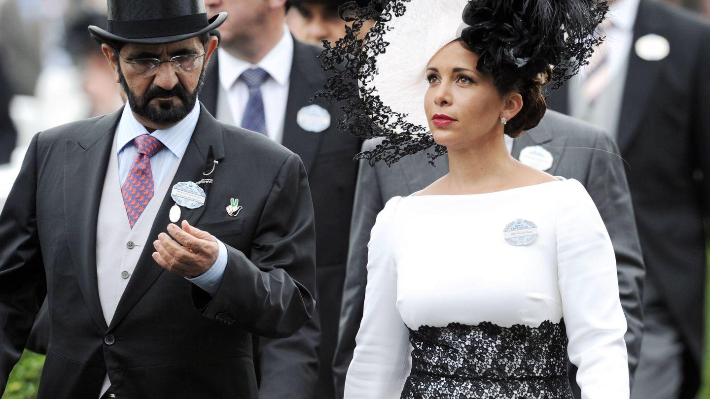 Haya de Jordania y el emir de Dubái en una imagen de archivo. (Getty)