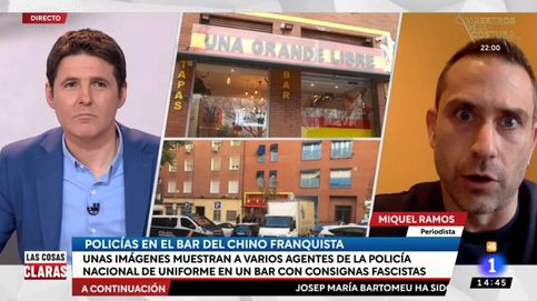 El programa de Jesús Cintora señala a policías por comer en un bar fascista