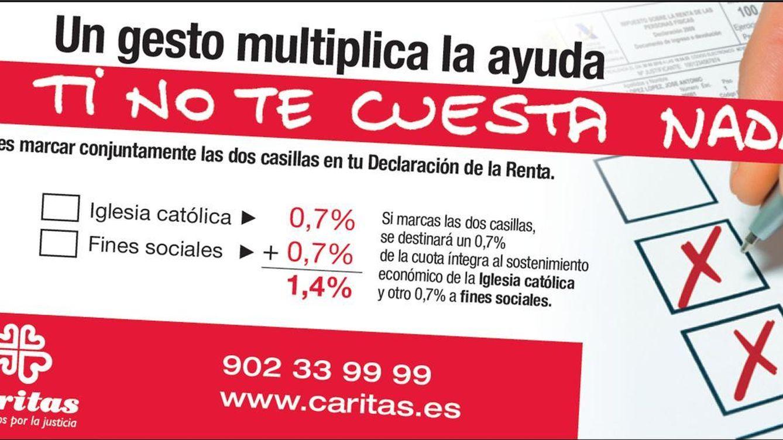 Foto: Renta 2014: Cáritas invita a los contribuyentes a marcar la 'X' de la Iglesia y Fines Sociales