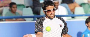 Foto: La revelación del torneo de Madras, el español Roberto Bautista, pierde ante Tipsarevic