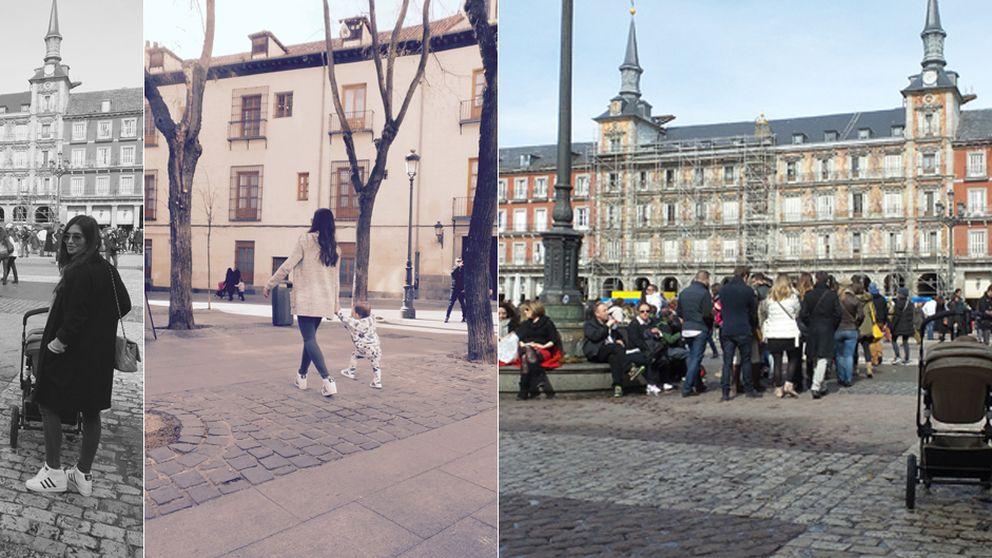 Martín Casillas da sus primeros pasos en la Plaza Mayor de Madrid