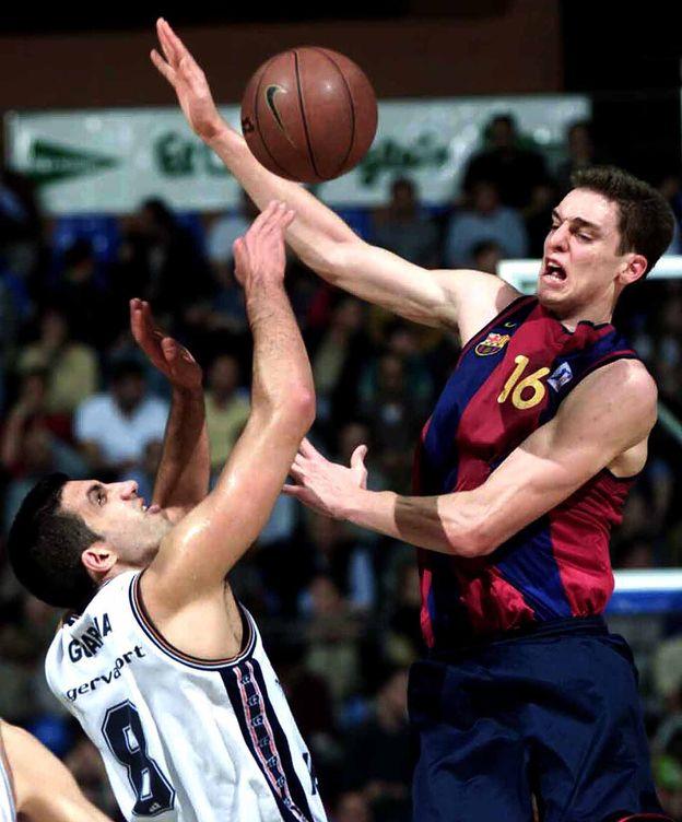 Foto: Pau Gasol fue el 'MVP' de la Copa de 2001, meses antes de irse a la NBA (Cordon Press)