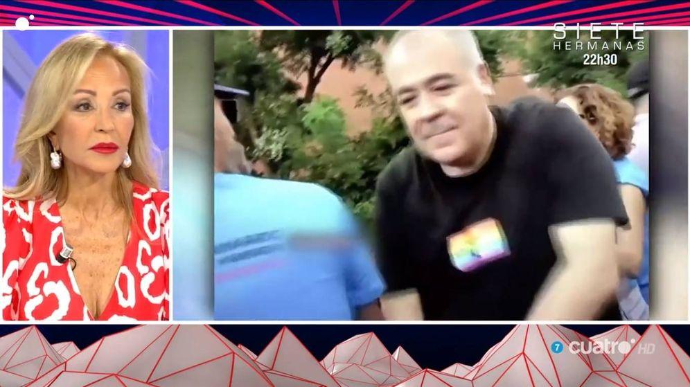 Foto: Camen Lomana pidiendo disculpas públicamente a Antonio García Ferreras